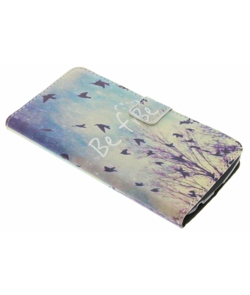 Design TPU booktype hoes LG K10