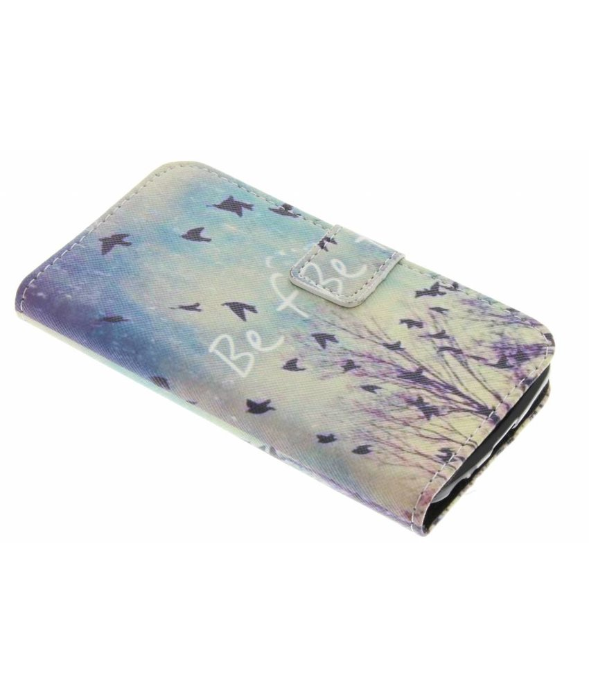 Design TPU booktype hoes LG K4