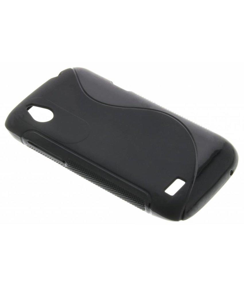 Zwart S-line TPU hoesje HTC Desire X / V
