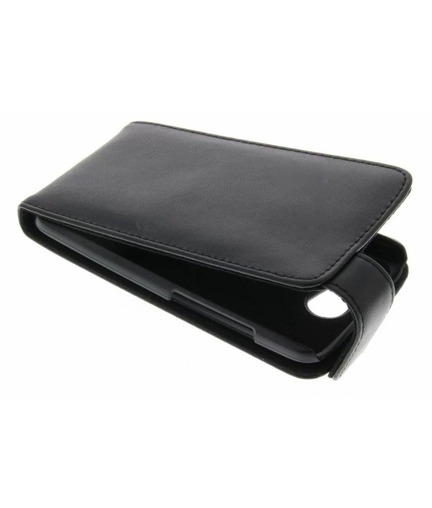 Zwart stijlvolle flipcase HTC One X (Plus)