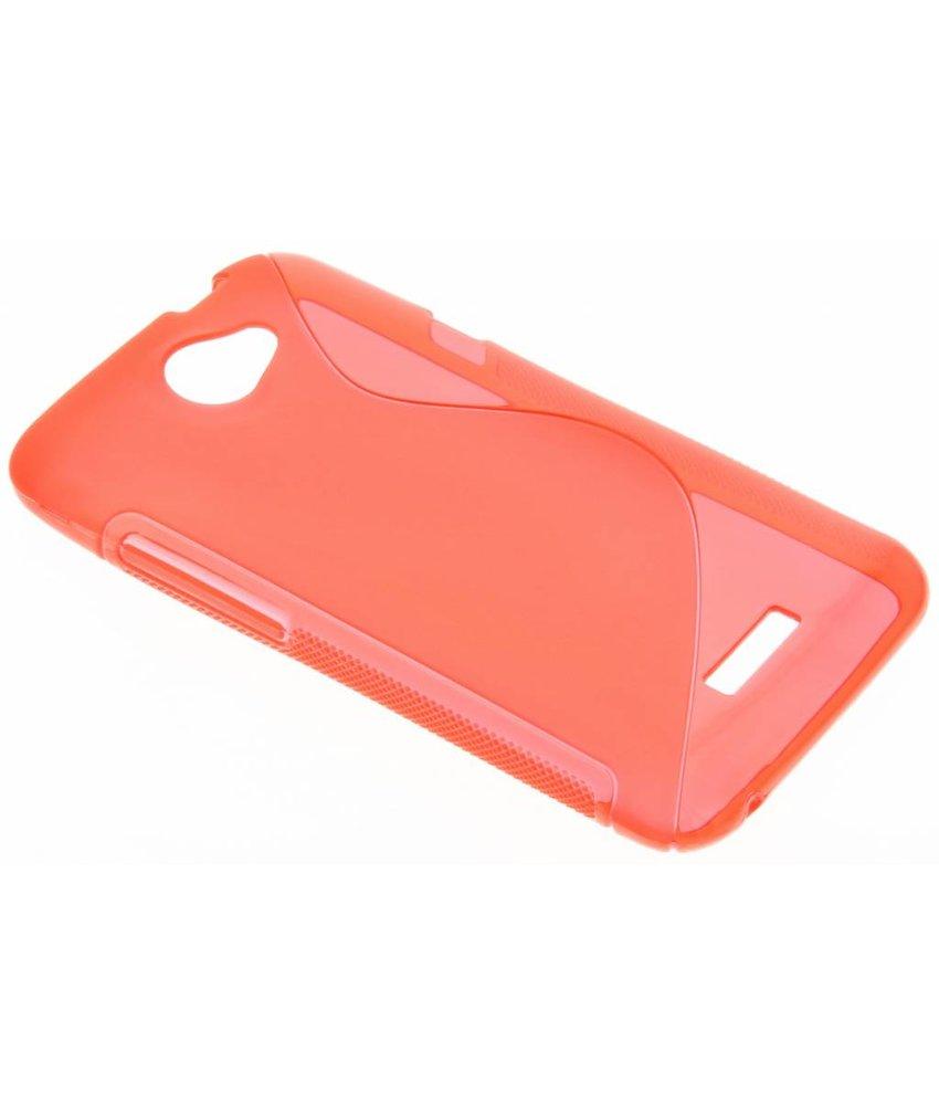 Rood S-line TPU hoesje HTC One X (Plus)