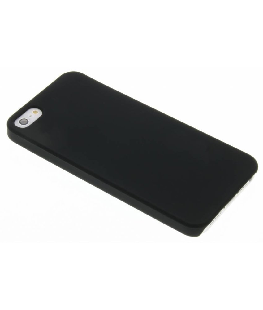 Zwart effen hardcase iPhone 5 / 5s / SE