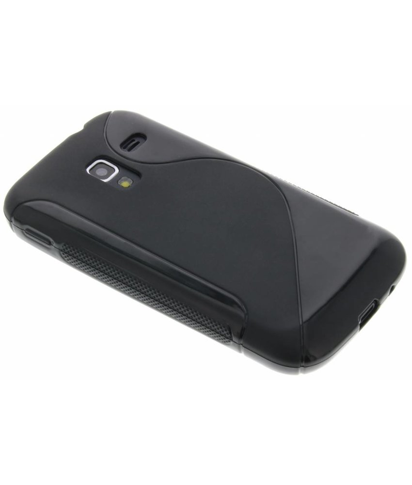 Zwart S-line TPU hoesje Samsung Galaxy Ace 2