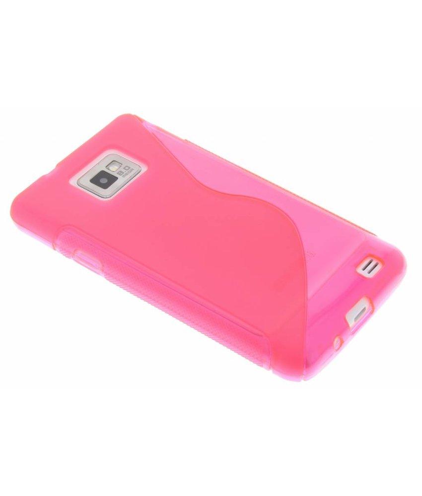 Rosé S-line TPU hoesje Samsung Galaxy S2 (Plus)