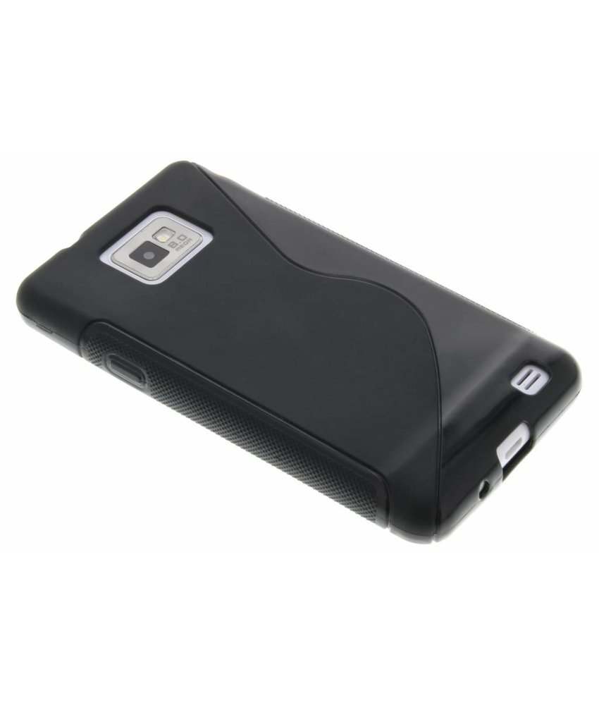 Zwart S-line TPU hoesje Samsung Galaxy S2 (Plus)