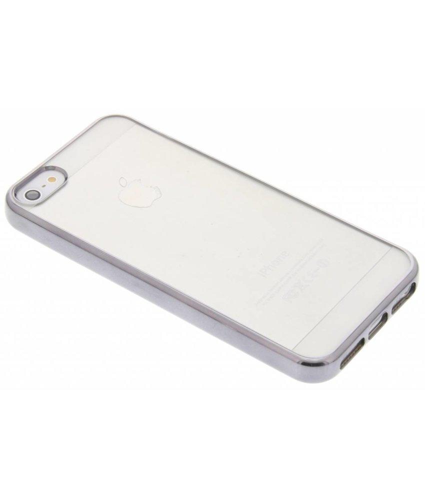 Fonex Sparkling Soft Case iPhone 5 / 5s / SE - Zwart
