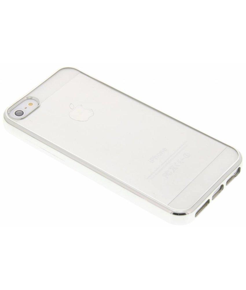 Fonex Sparkling Soft Case iPhone 5 / 5s / SE - Zilver
