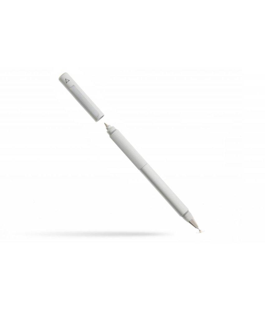 Adonit Switch 2-in-1 stylus pen met balpen - Zilver