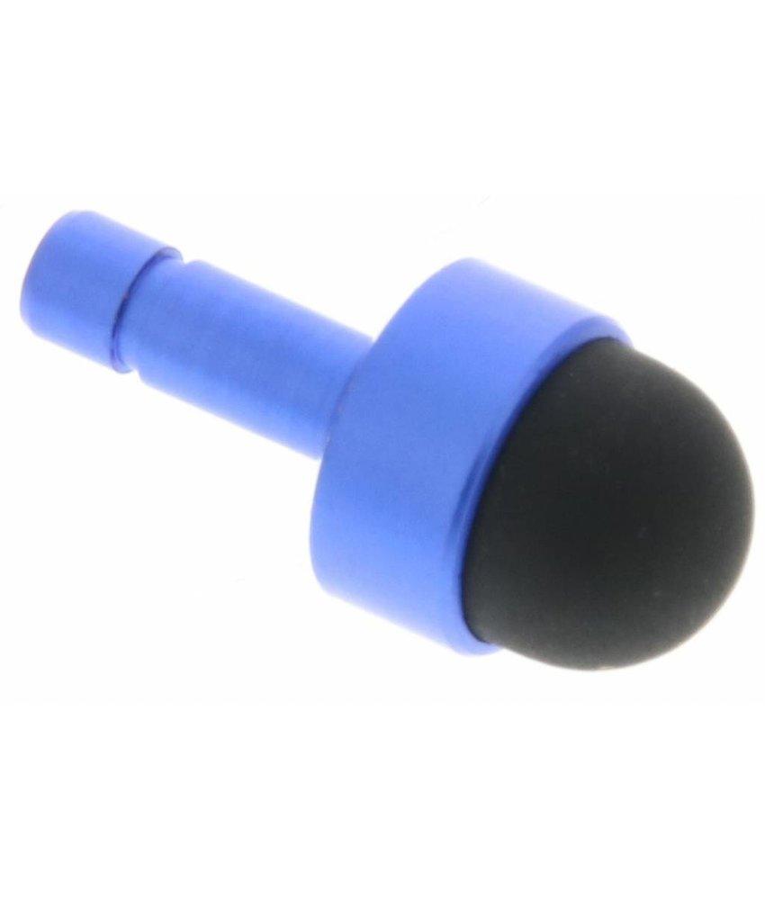 Mini anti-stof plug en stylus - Donkerblauw