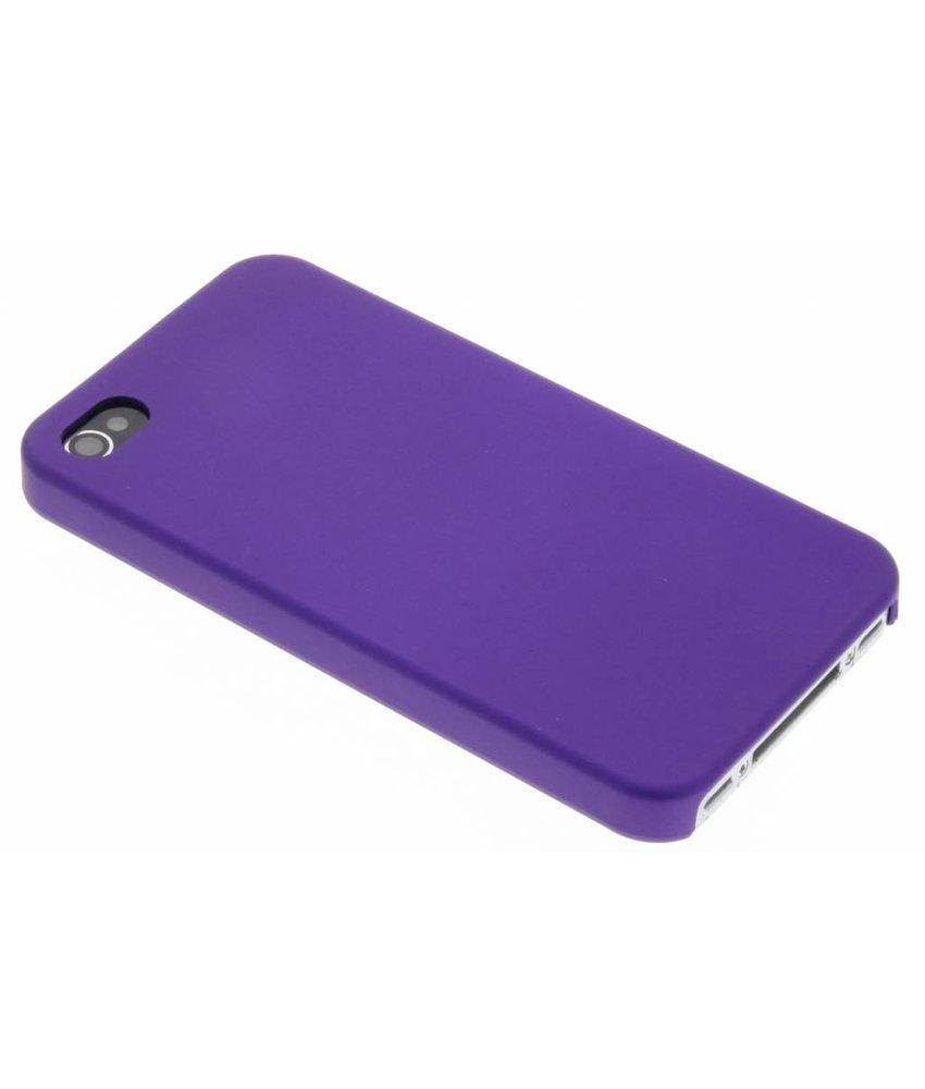 Paars effen hardcase iPhone 4 / 4s