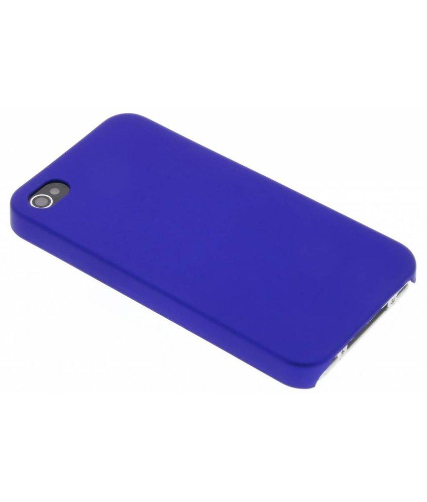Blauw effen hardcase iPhone 4 / 4s