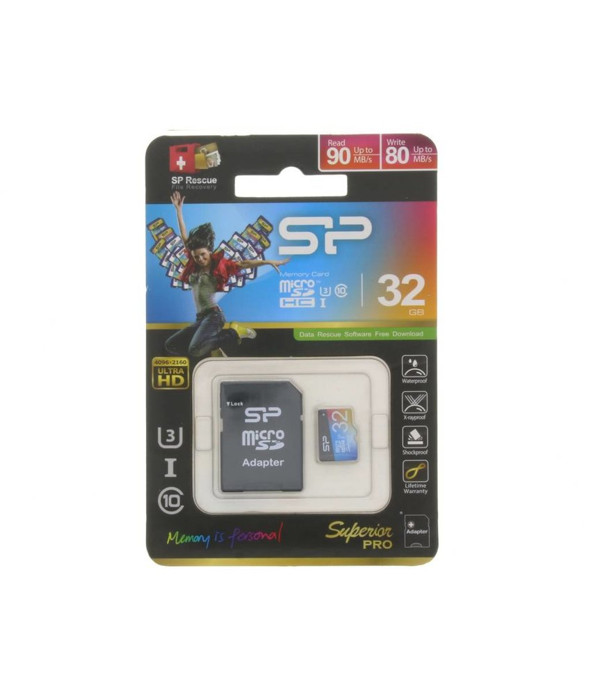 Silicon Power Superior Pro 32GB geheugenkaart