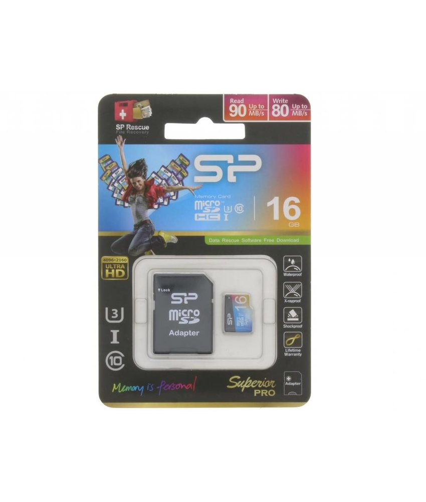 Silicon Power Superior Pro 16GB geheugenkaart