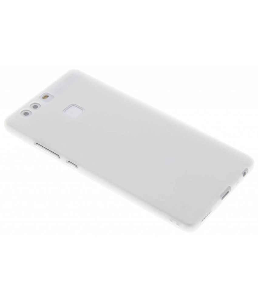 Wit Color TPU hoesje Huawei P9