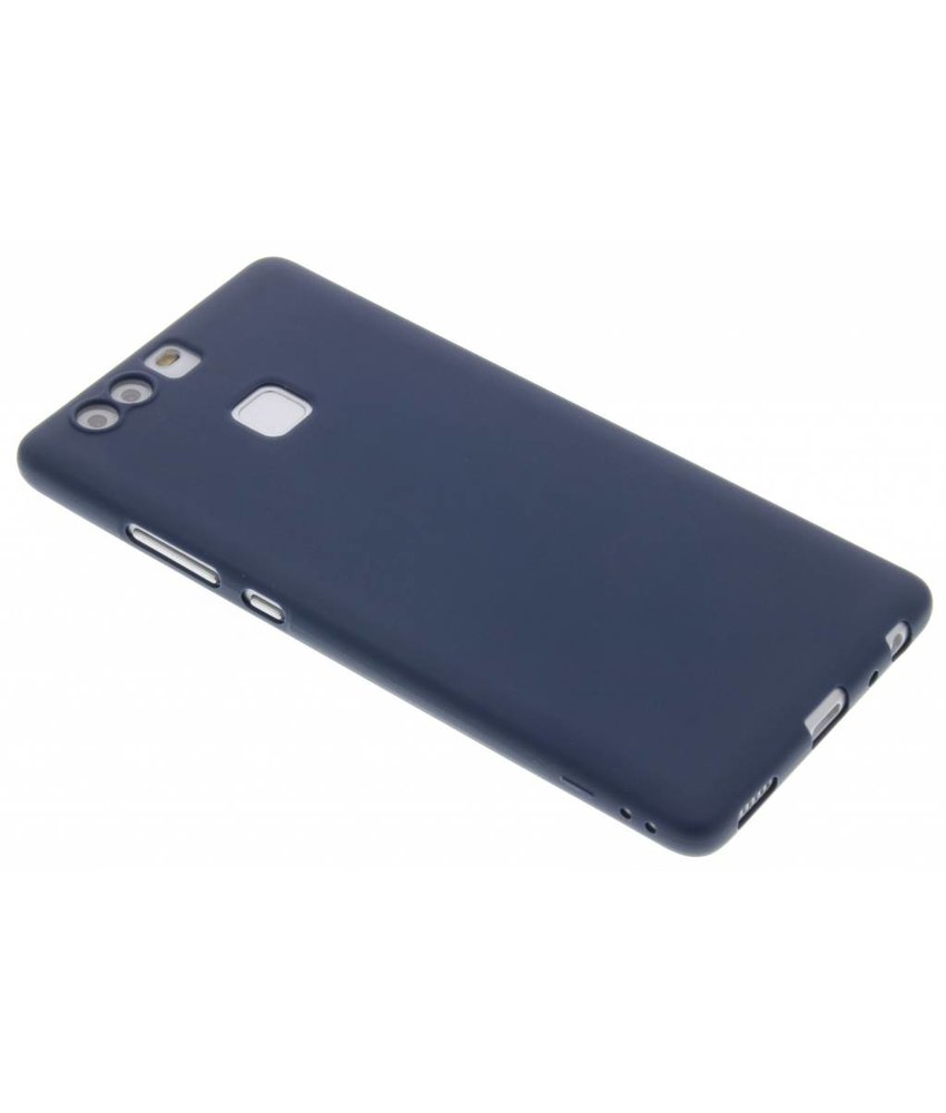 Donkerblauw Color TPU hoesje Huawei P9