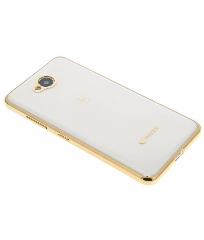 Mozo Glam Case Microsoft Lumia 650 - Goud
