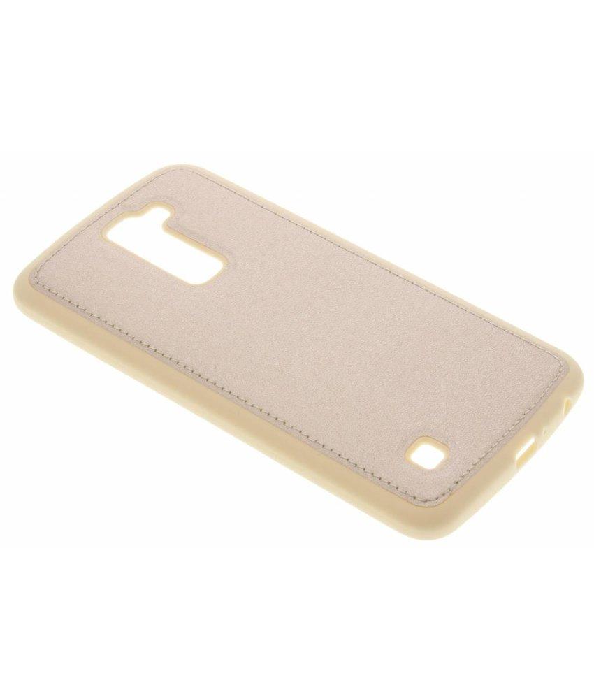 Goud metallic TPU case LG K10
