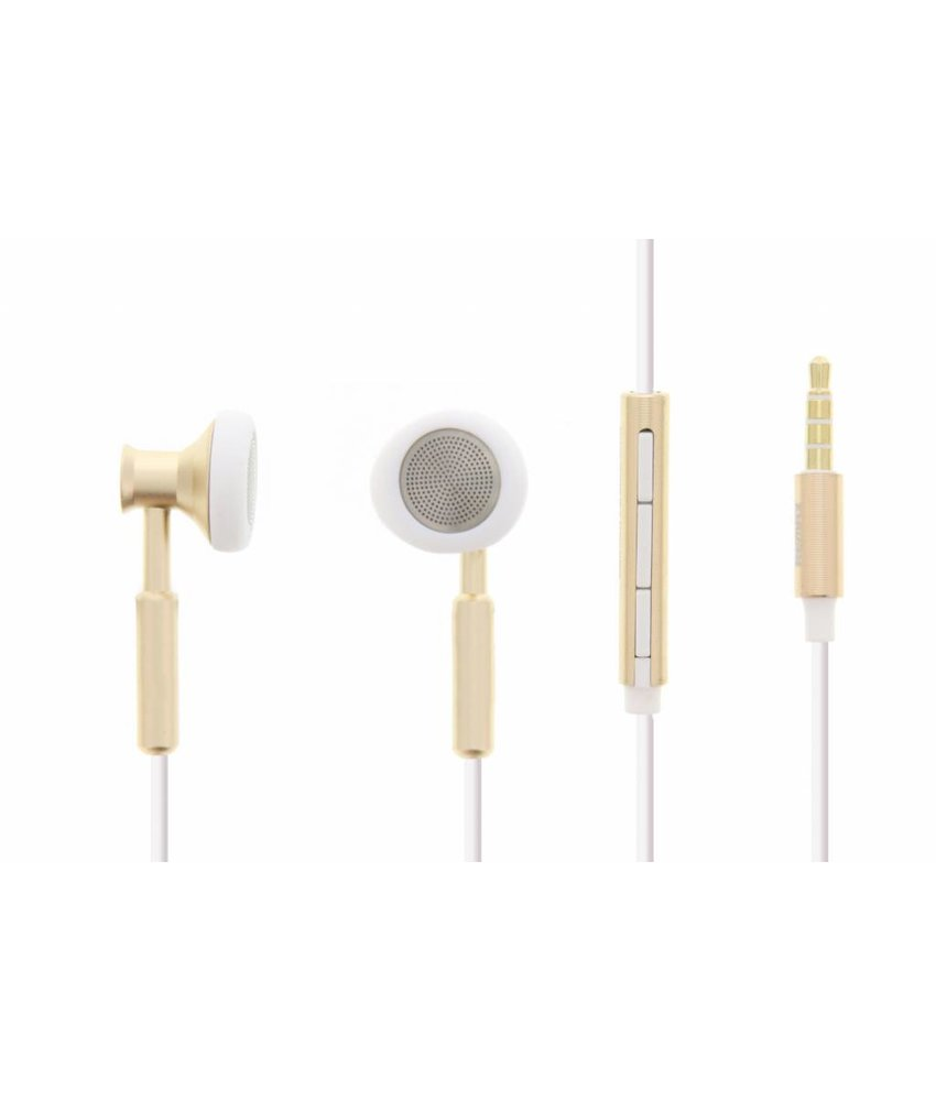 REMAX 305M Metal Music Earphone - Goud