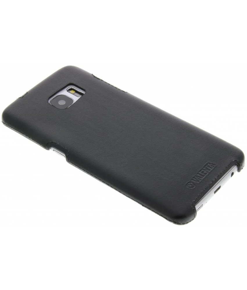 Valenta Back Cover Classic Samsung Galaxy S7 Edge - Zwart