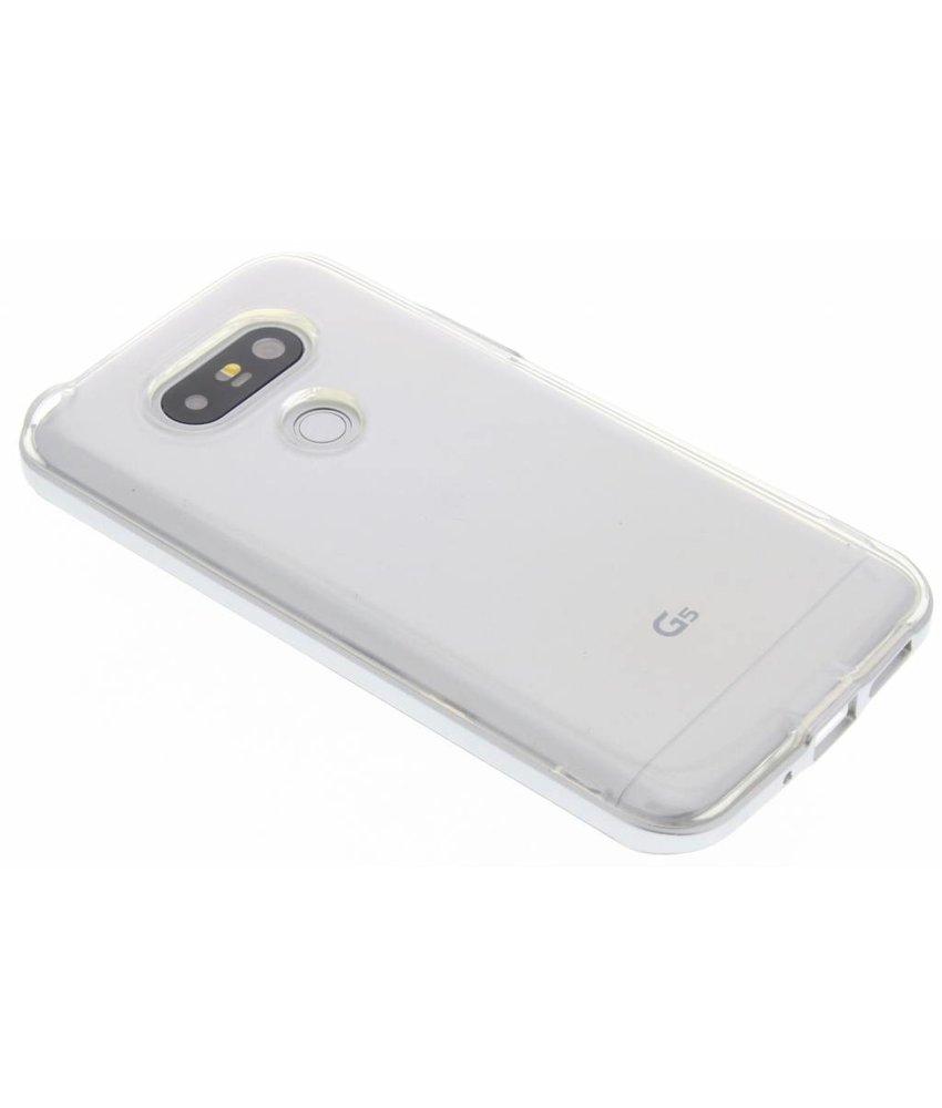 Zilver bumper TPU case LG G5 (SE)