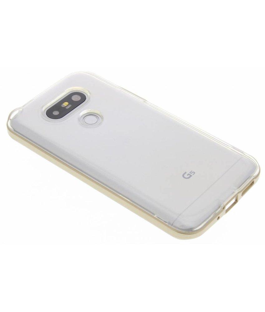 Goud bumper TPU case LG G5 (SE)