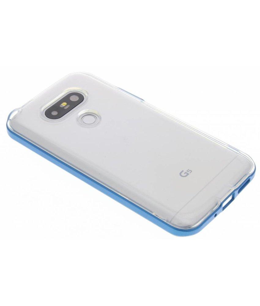 Blauw bumper TPU case LG G5 (SE)