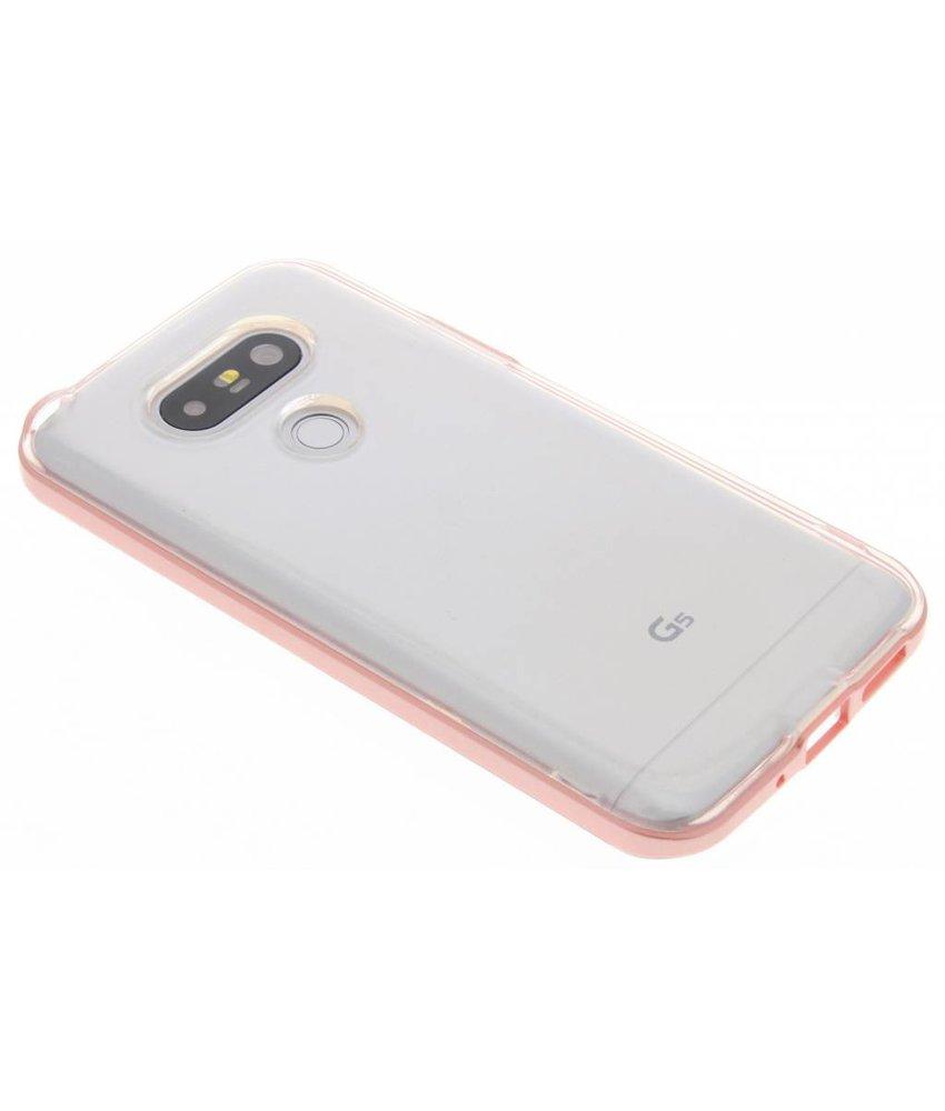 Roze bumper TPU case LG G5 (SE)