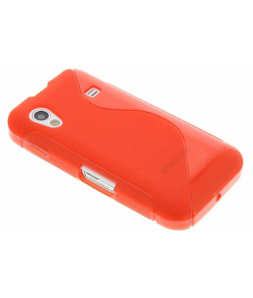 Rood S-line TPU hoesje Samsung Galaxy Ace