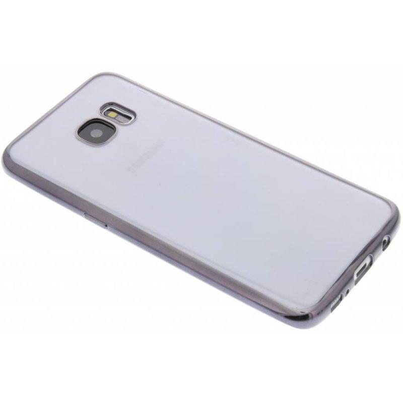 Fonex Sparkling Soft Case Samsung Galaxy S7 Edge - Zwart