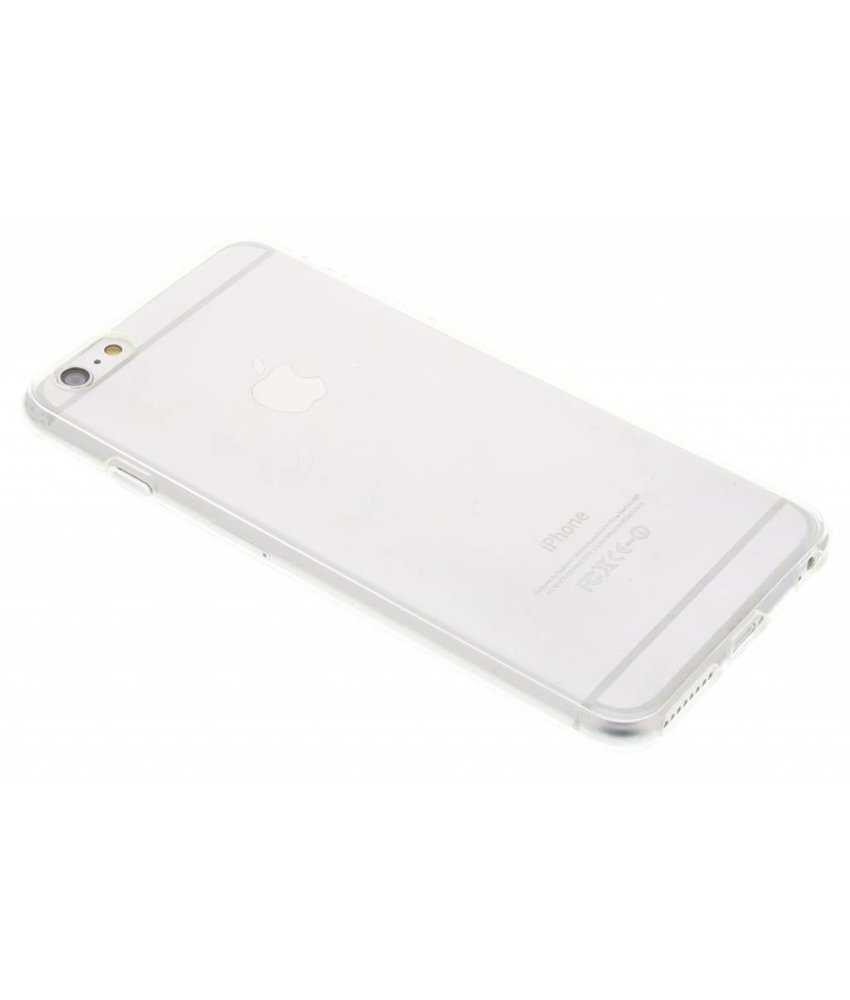 Accezz TPU Clear Cover + Glass Protector iPhone 6(s) Plus