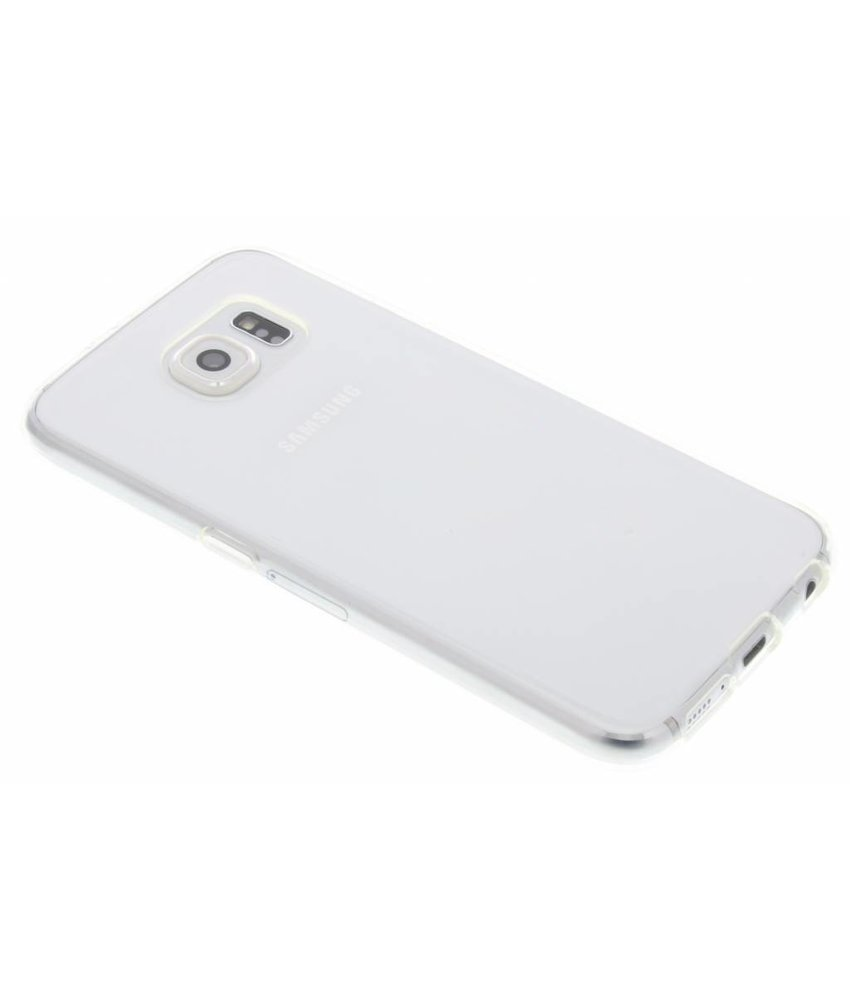 Accezz TPU Clear Cover + Glass Protector Samsung Galaxy S6