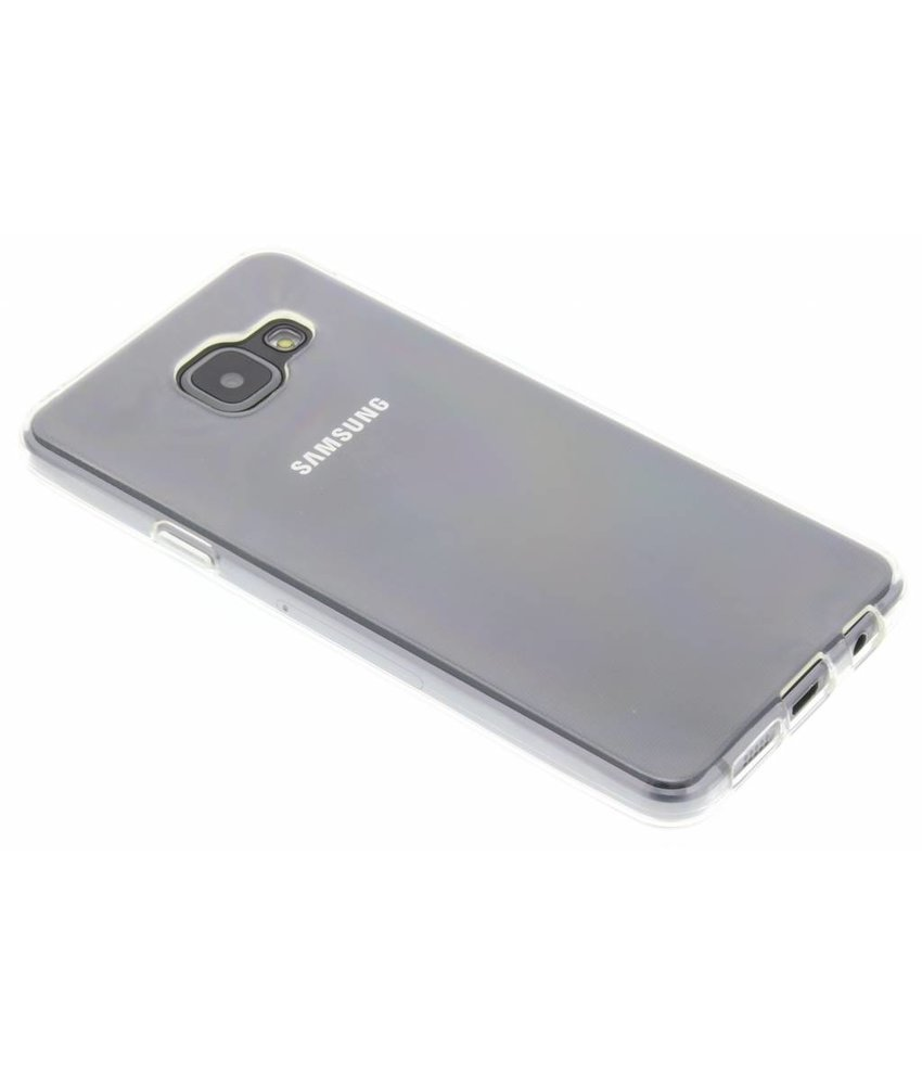 Accezz TPU Clear Cover + Glass Protector Samsung Galaxy A3 (2016)