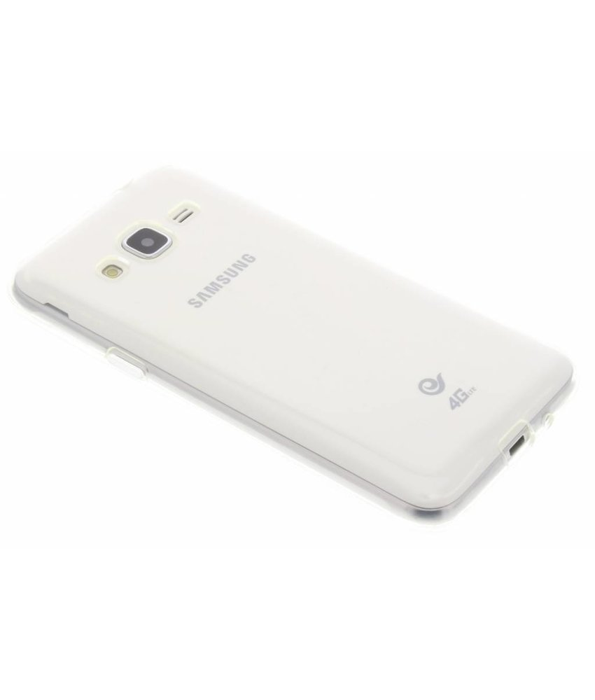 Accezz TPU Clear Cover + Glass Protector Samsung Galaxy J3 / J3 (2016)
