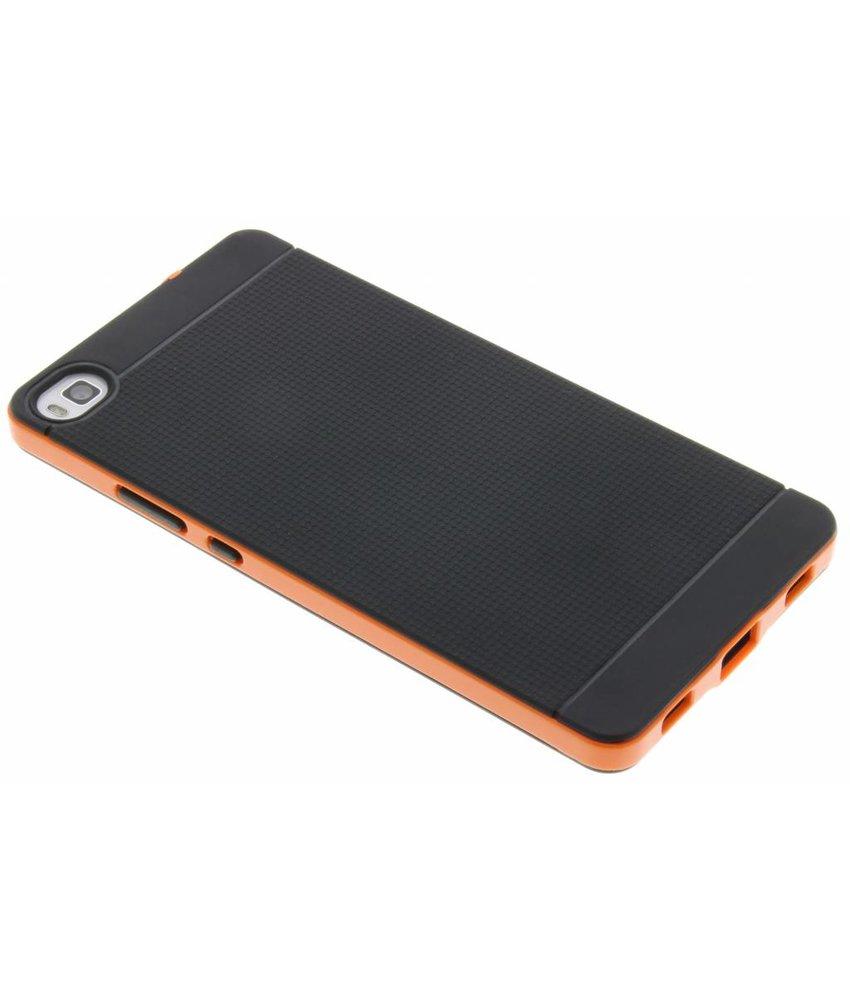 Oranje TPU Protect Case Huawei P8