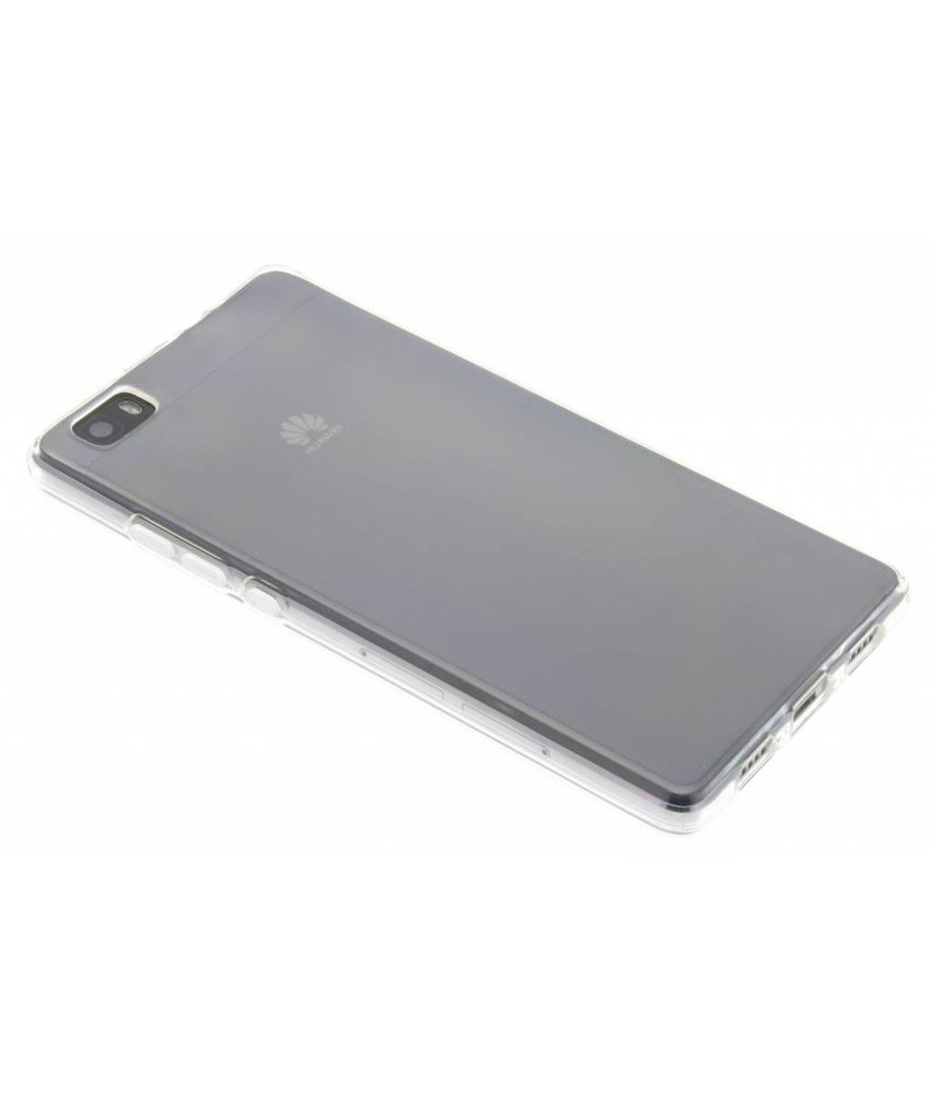 Accezz TPU Clear Cover + Glass Protector Huawei P8 Lite