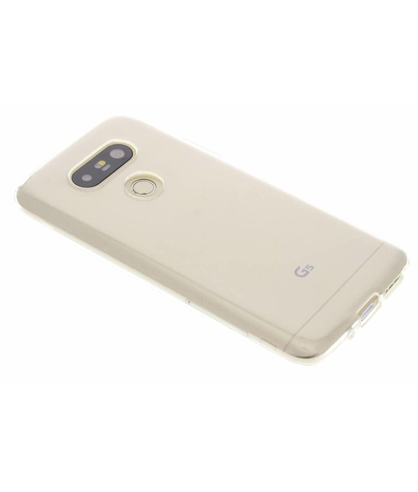Accezz TPU Clear Cover + Glass Protector LG G5 (SE)