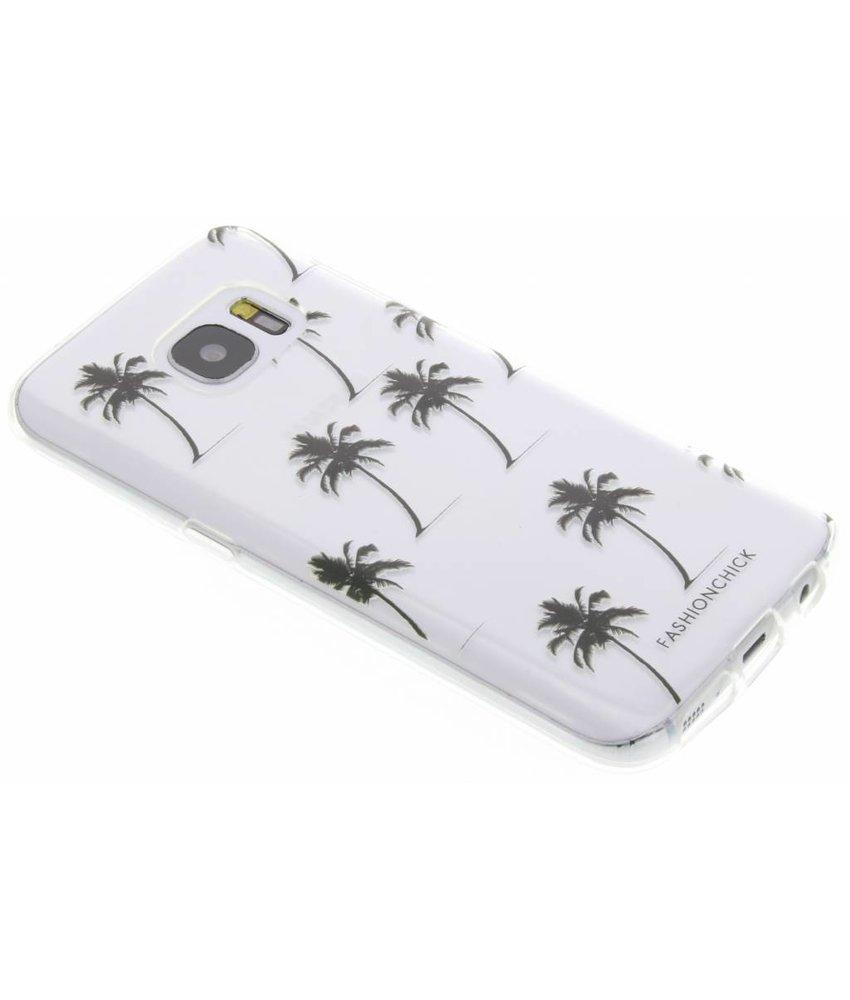 Fashionchick Palmtrees Softcase Samsung Galaxy S7
