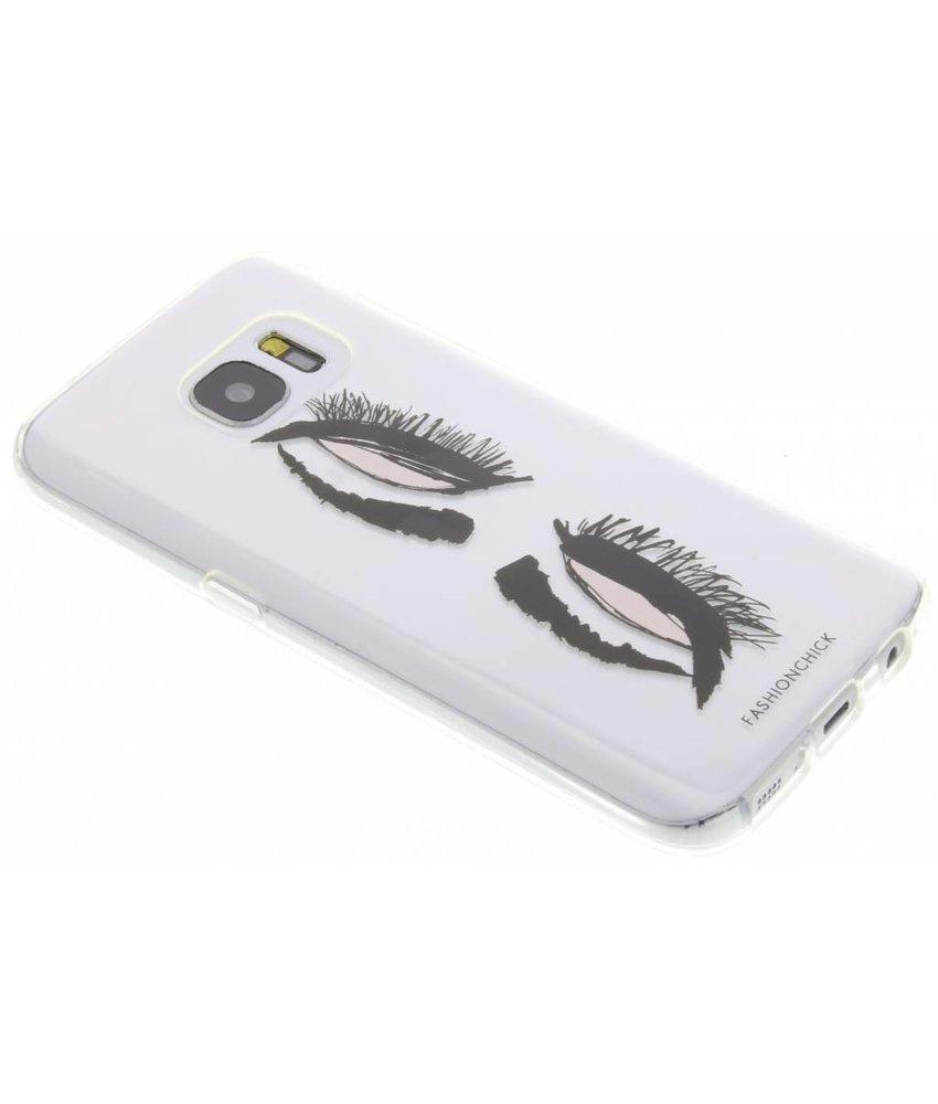Fashionchick Eyes Softcase Samsung Galaxy S7