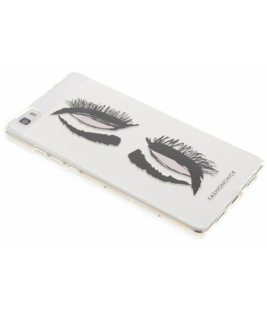 Fashionchick Eyes Softcase Huawei P8 Lite