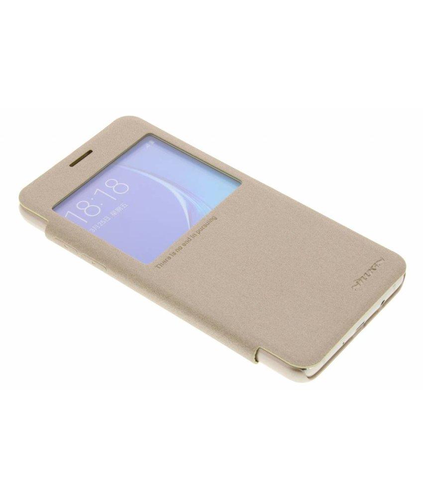 Nillkin Sparkle slim booktype hoes Samsung Galaxy J5 (2016) - Goud