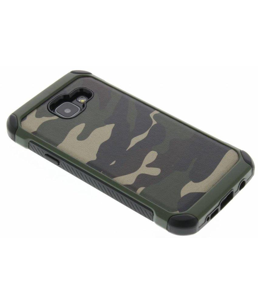 Groen army defender hardcase hoesje Samsung Galaxy A3 (2016)