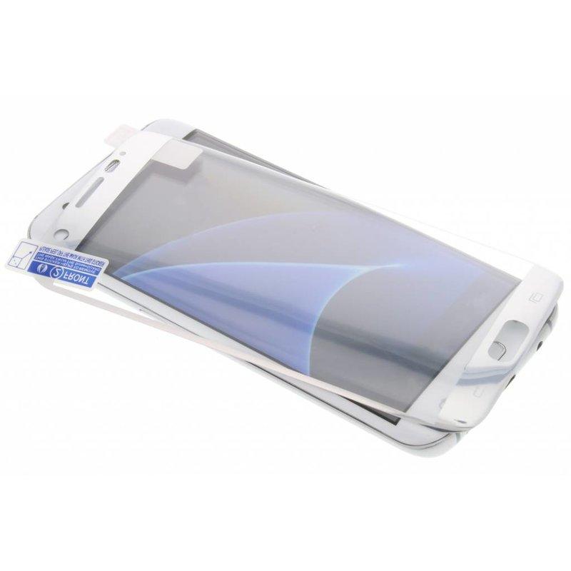 Screenprotector Samsung Galaxy S7 Edge - Zilver