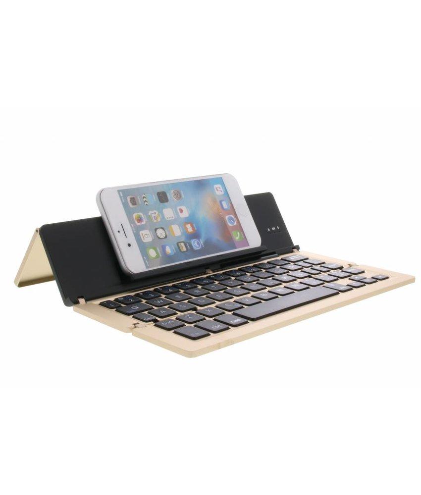 Foldable Bluetooth Keyboard - Goud