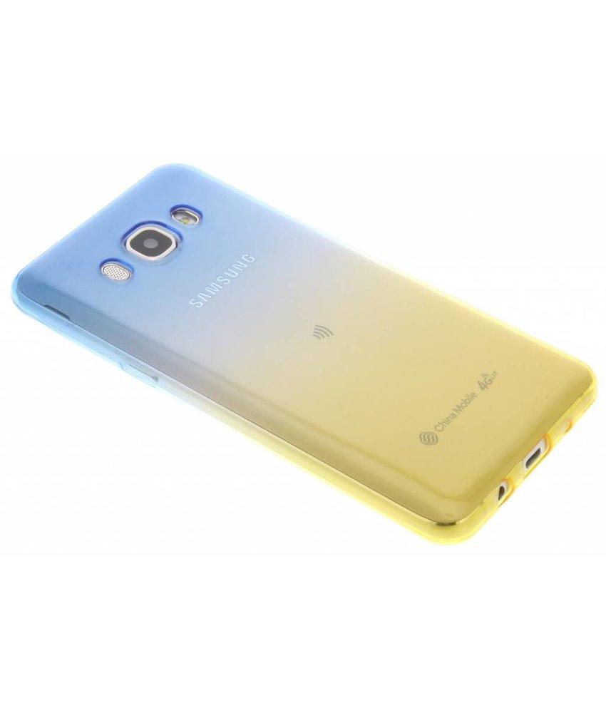 Tweekleurig TPU siliconen hoesje Samsung Galaxy J5 (2016)