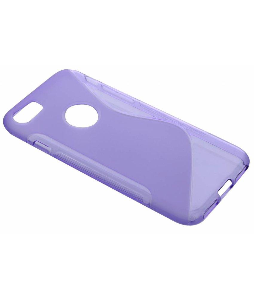 Paars S-line TPU hoesje iPhone 7 Plus