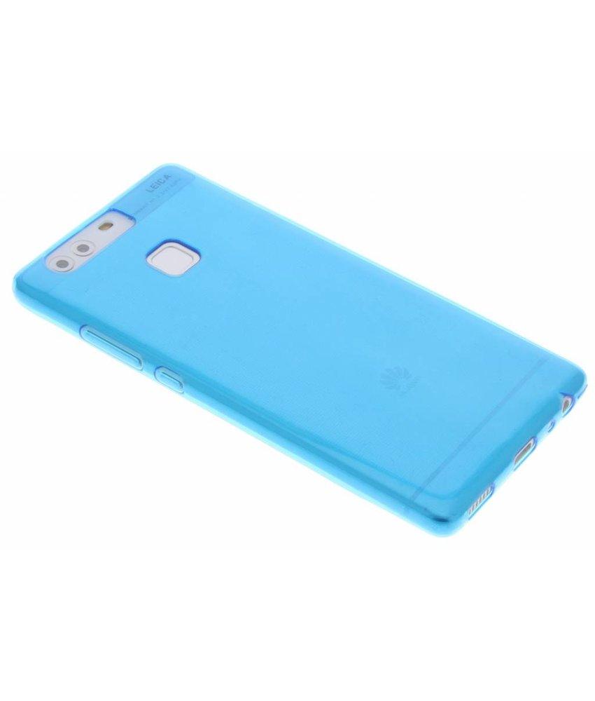 Blauw ultra thin transparant TPU hoesje Huawei P9