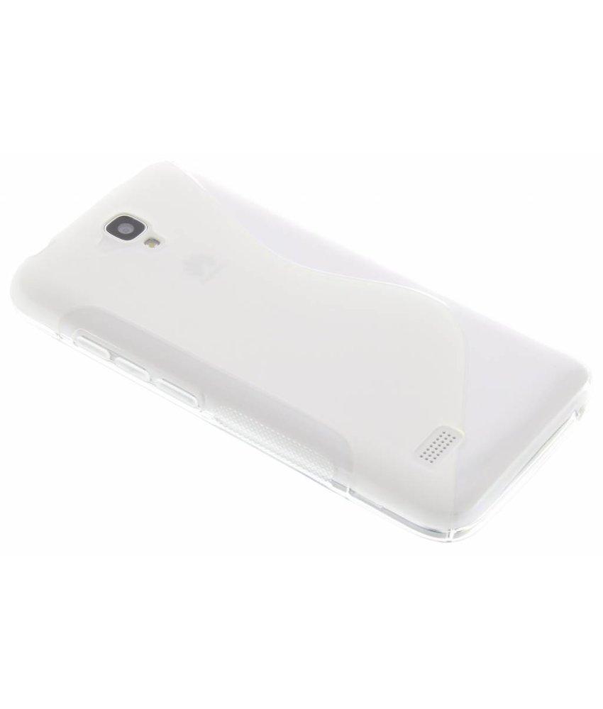 Transparant S-line TPU hoesje Huawei Y5