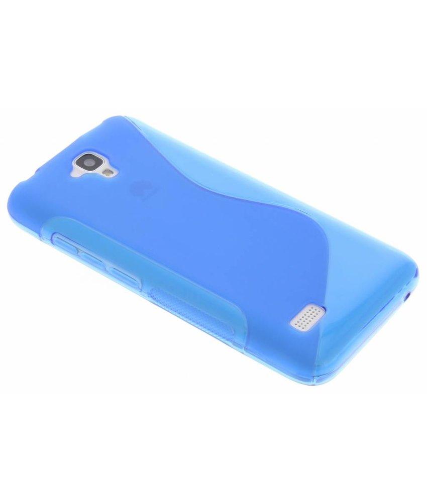 Blauw S-line TPU hoesje Huawei Y5