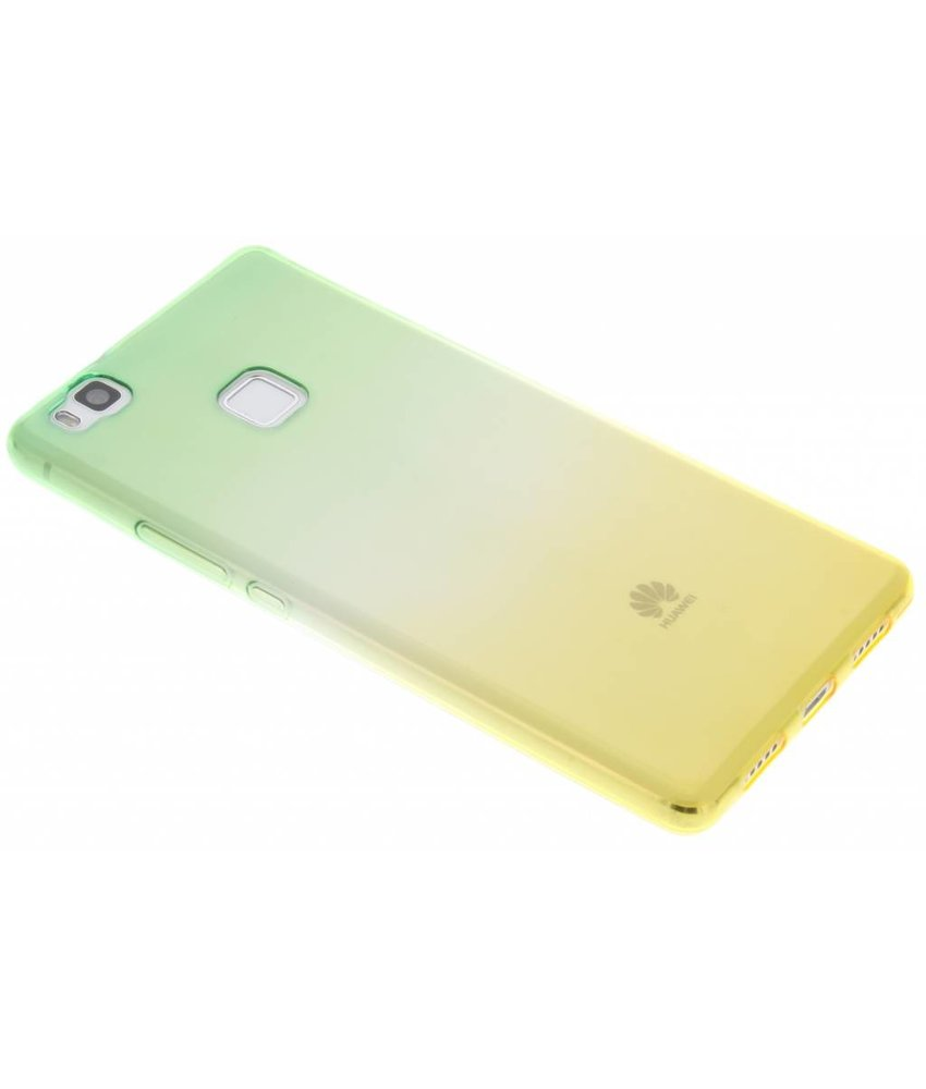 Tweekleurig TPU siliconen hoesje Huawei P9 Lite