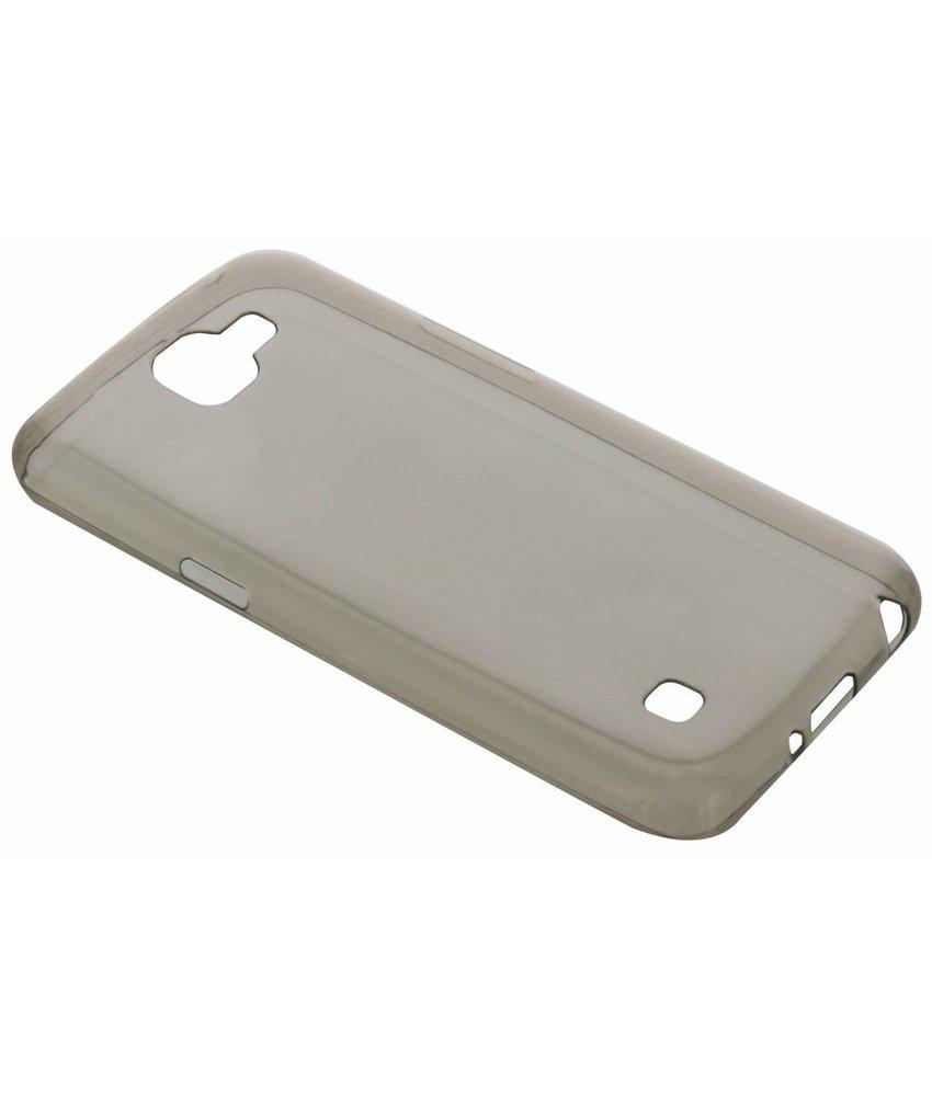 Grijs ultra thin transparant TPU hoesje LG K4